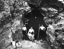 vogelherd - grabung 1931