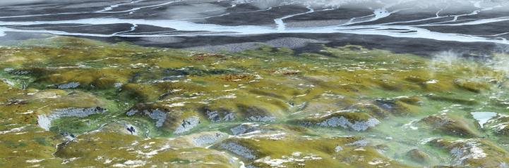 Landschaftsbild Eiszeit (© urmu)