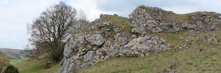 steinheimer becken - burgstall