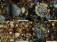meteorit blaubeuren - dünnschliffe