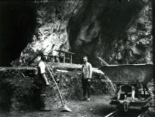 hohlenstein-stadel - grabung 1937